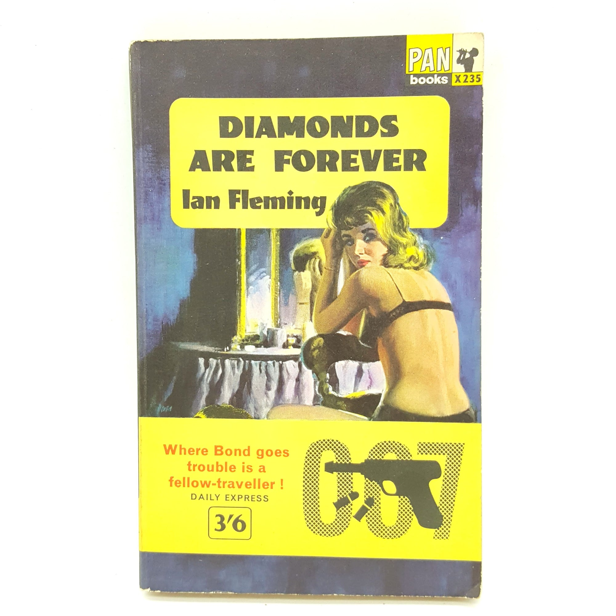 James Bond 007: Diamonds Are Forever 1963 Country House Library