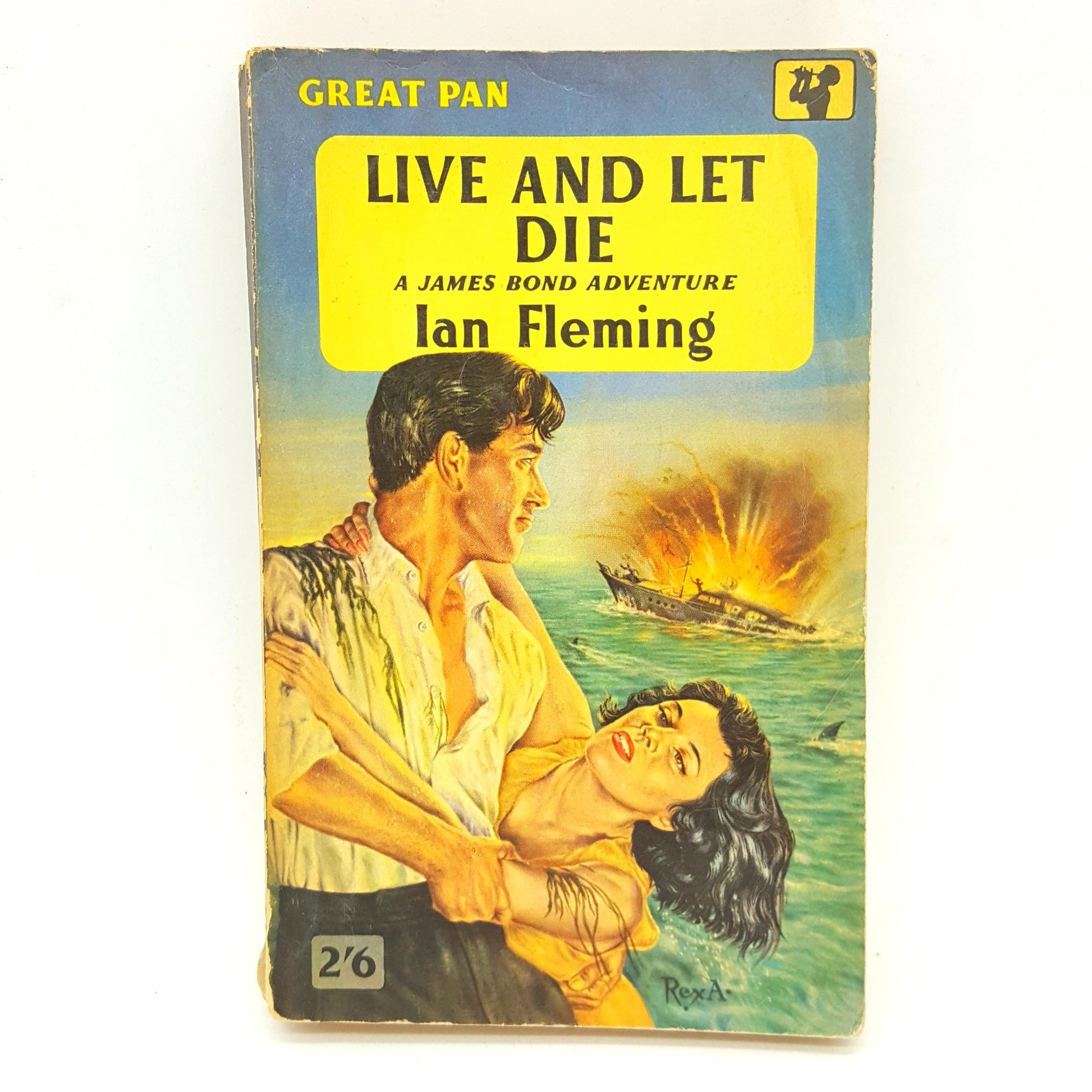 James Bond 007: Live and Let Die 1957 Country House Library