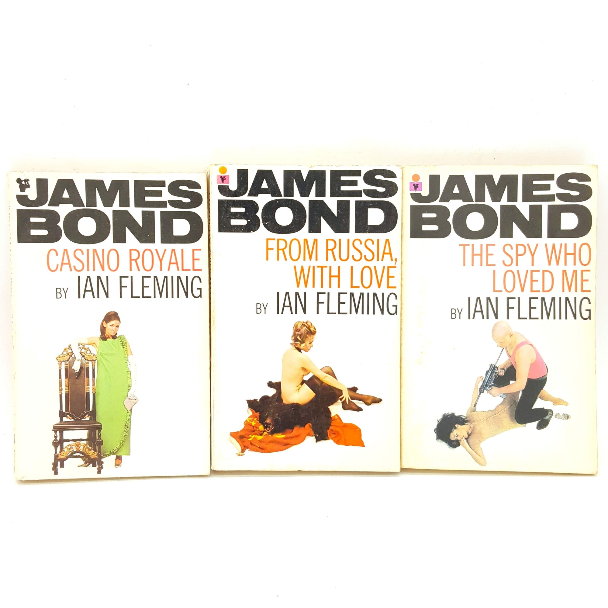 James Bond 007: Three Book White Collection - Pan Books Ltd Country House Library