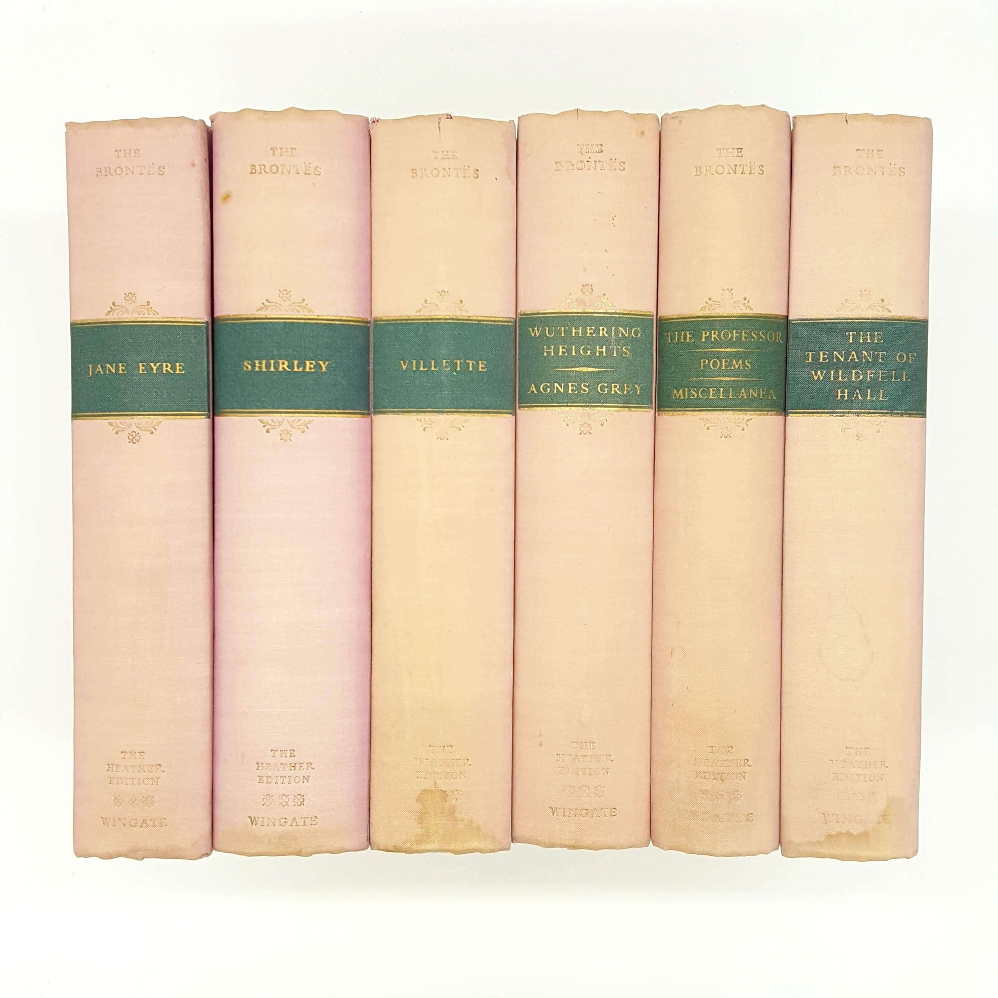 The Brontë Sisters - The Heather Edition Complete 6 Book Collection Country House Library