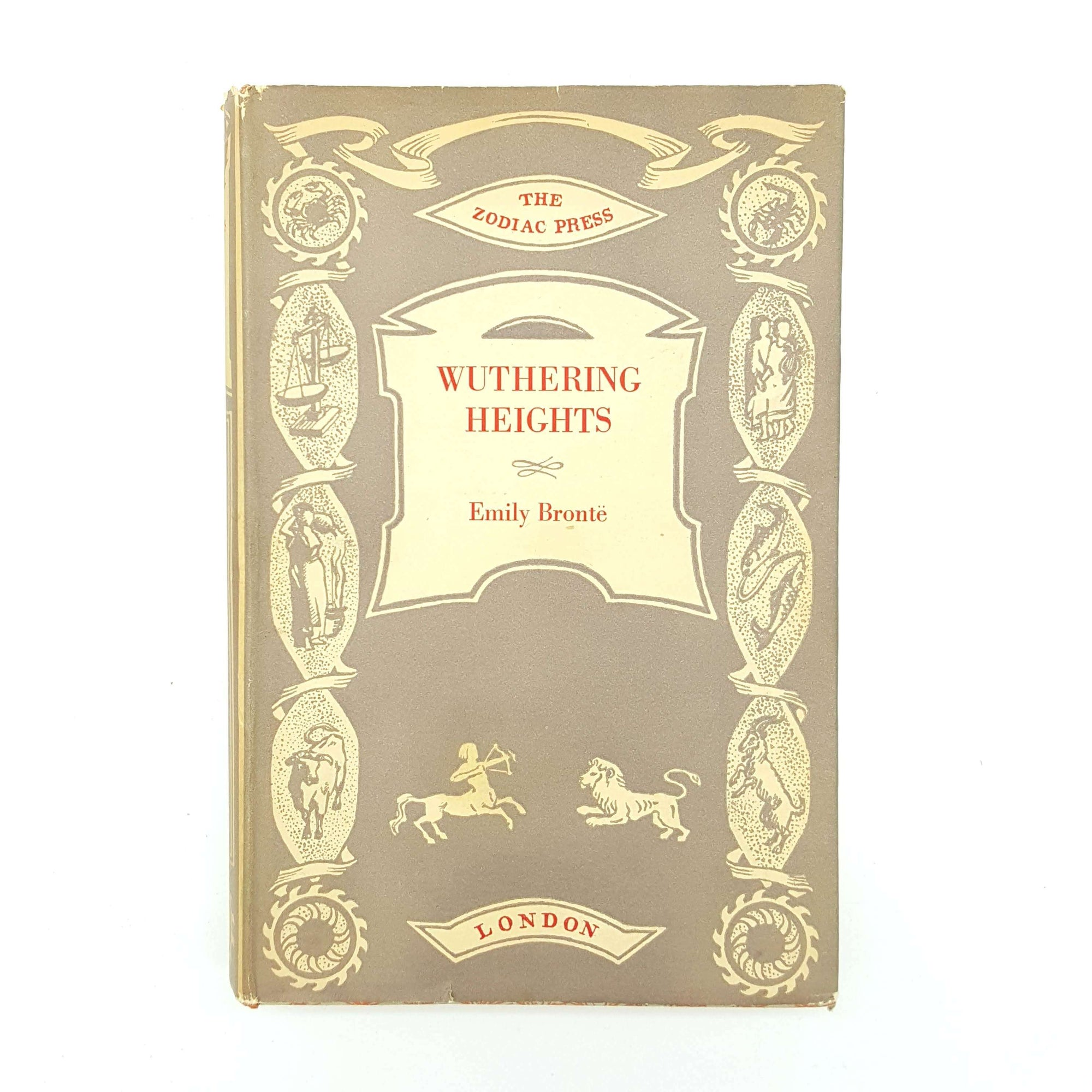 Wuthering Heights by Emily Brontë - Zodiac Press 1947 Country House Library