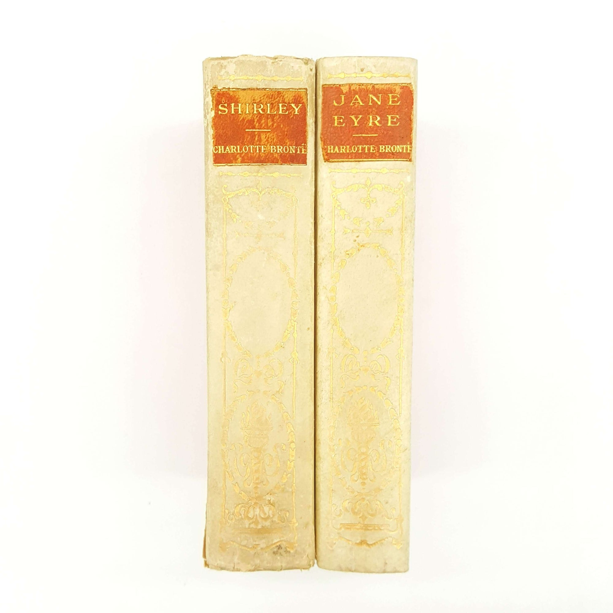 Charlotte Brontë - Jane Eyre and Shirley 1907 Country House Library