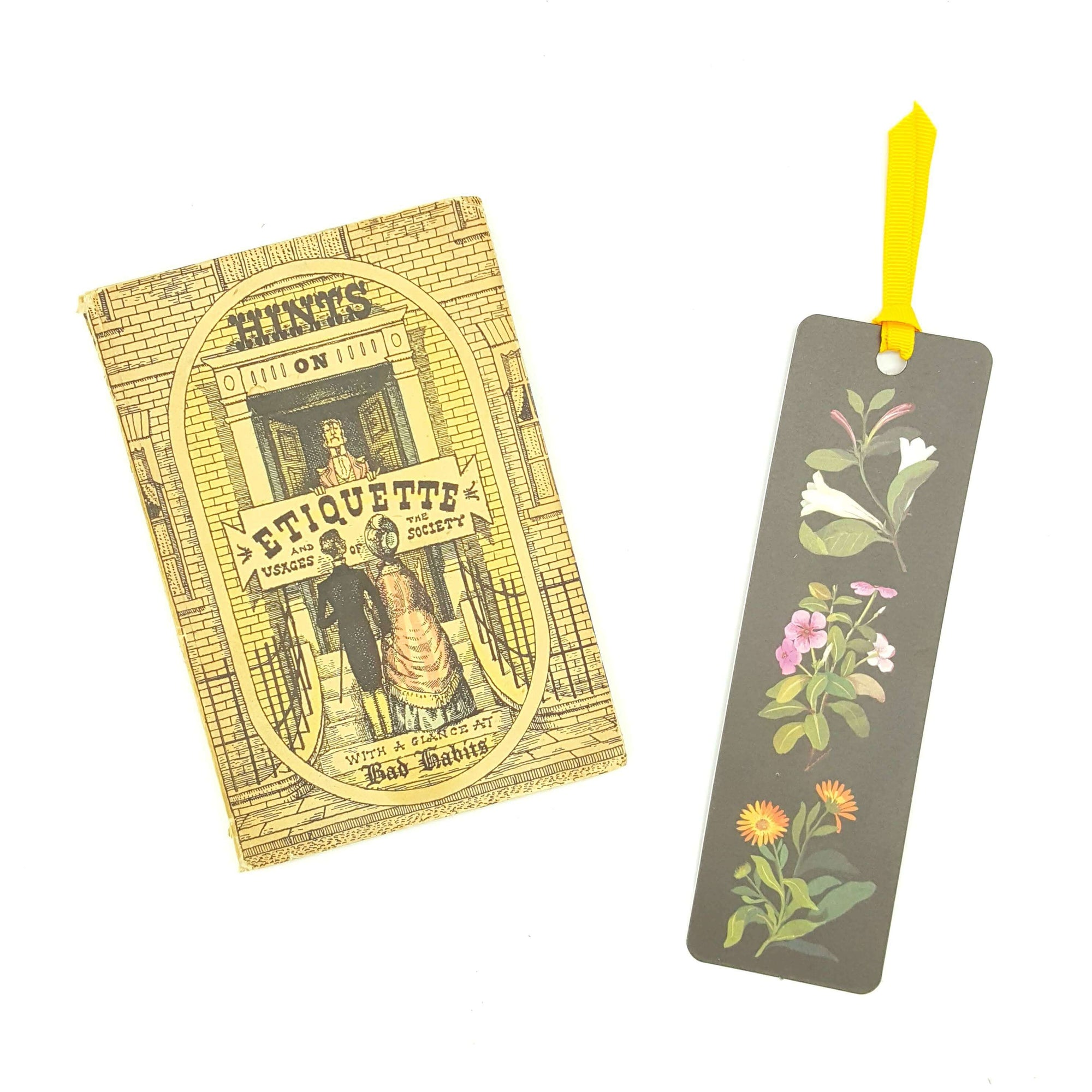 Hints on Etiquette - Miniature Book Country House Library