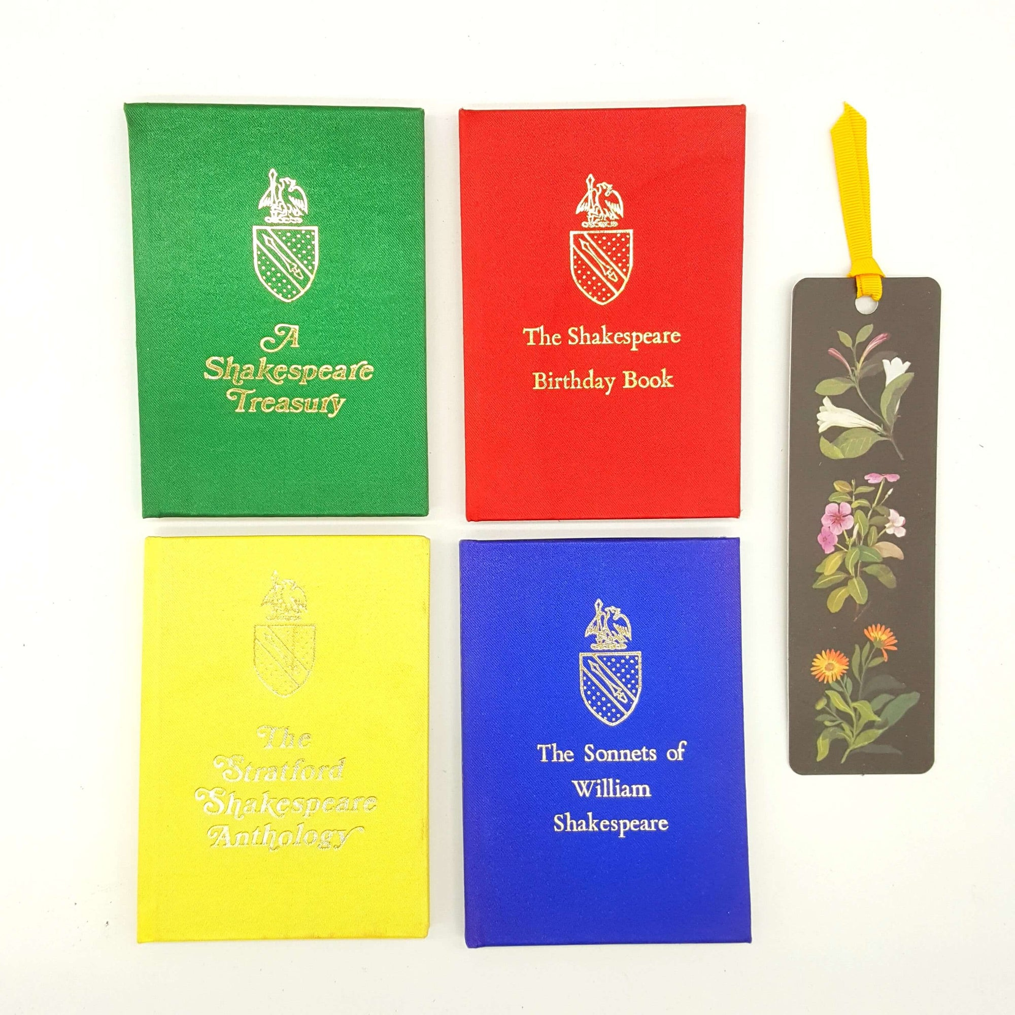 Four Book Mini Shakespeare Collection - Miniature Books Country House Library