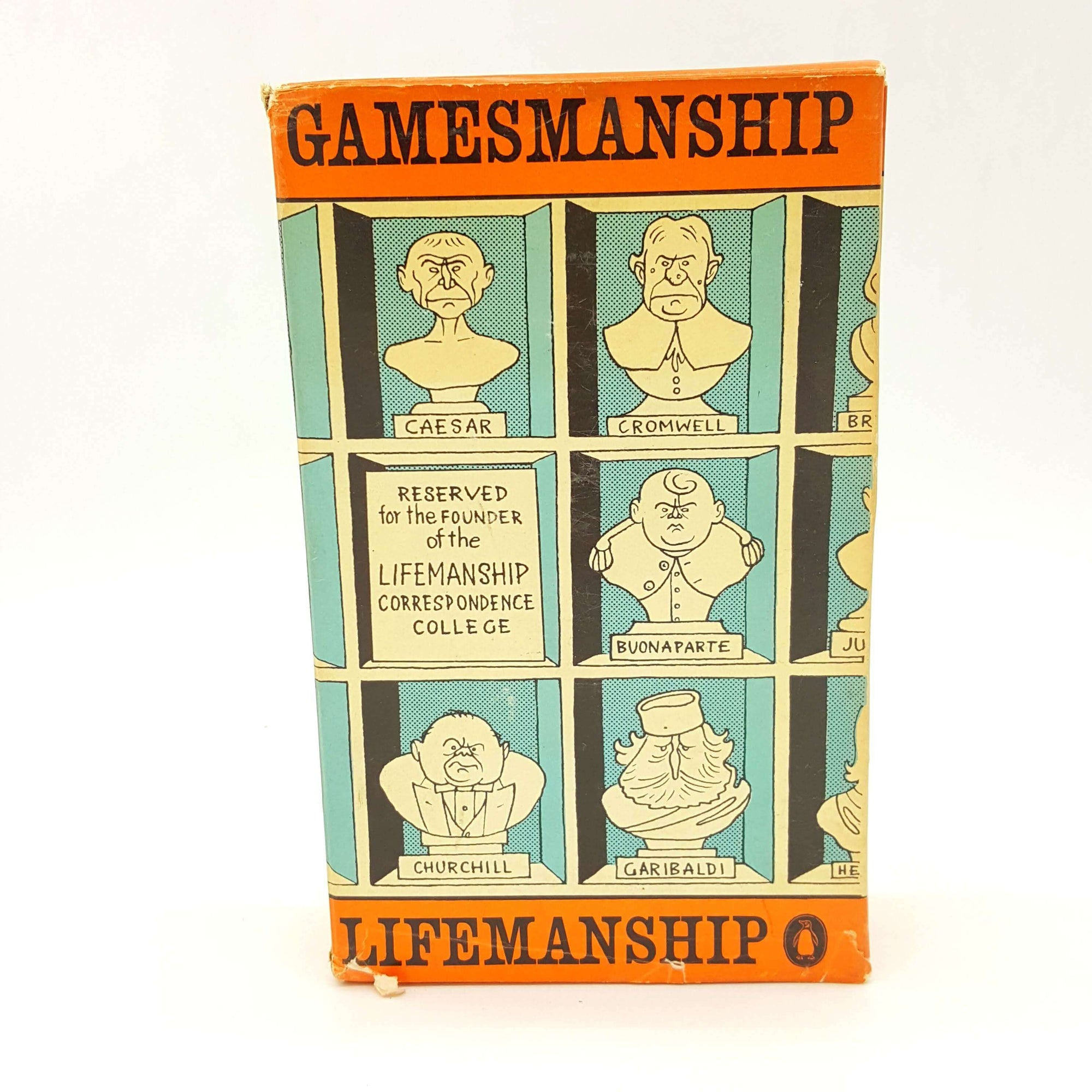 Gamesmanship Box Set by Stephen Potter Country House Library