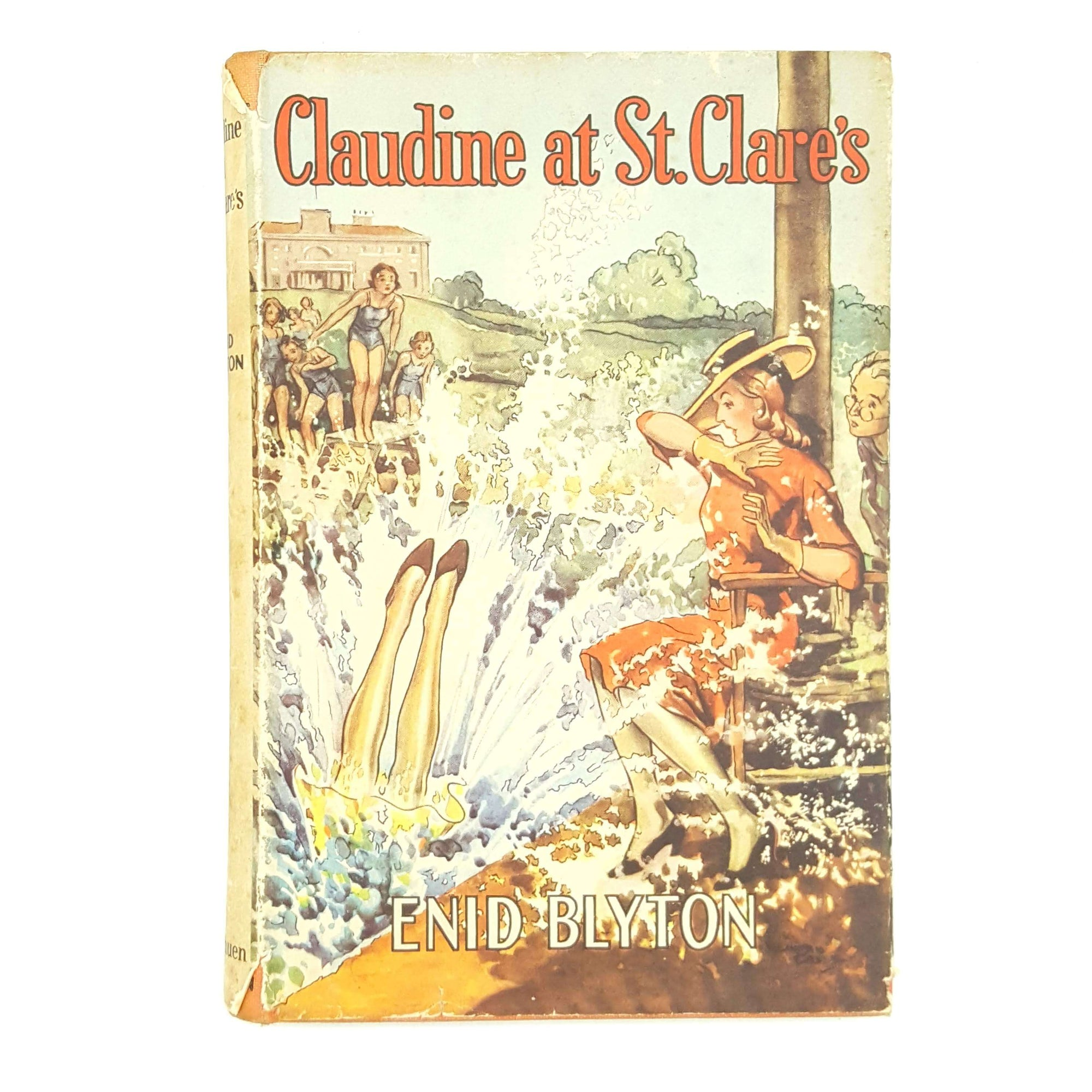 Enid Blyton's Claudine at St. Clare's Country House Library