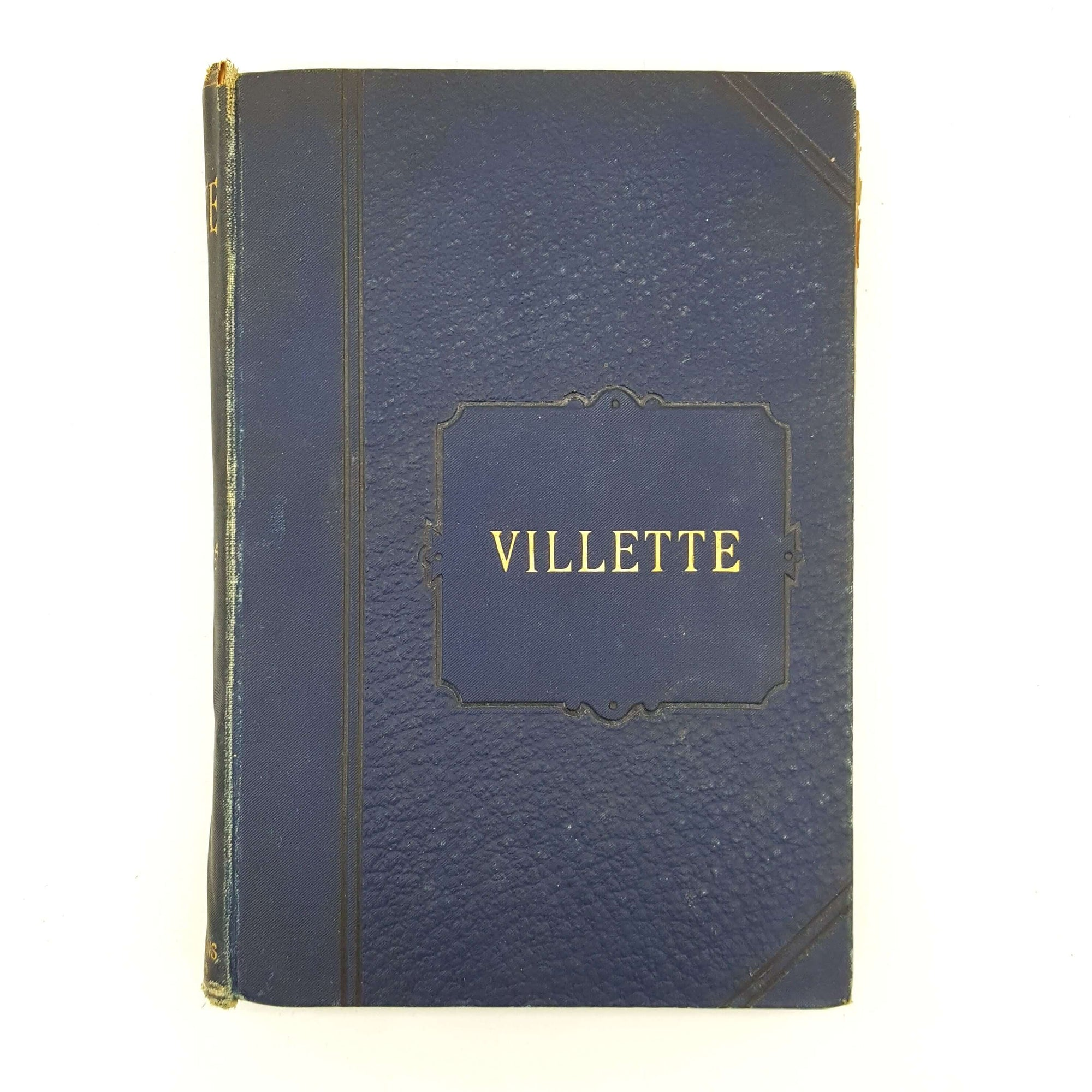 Charlotte Brontë's Villette - Thomas Stevenson & Sons Country House Library