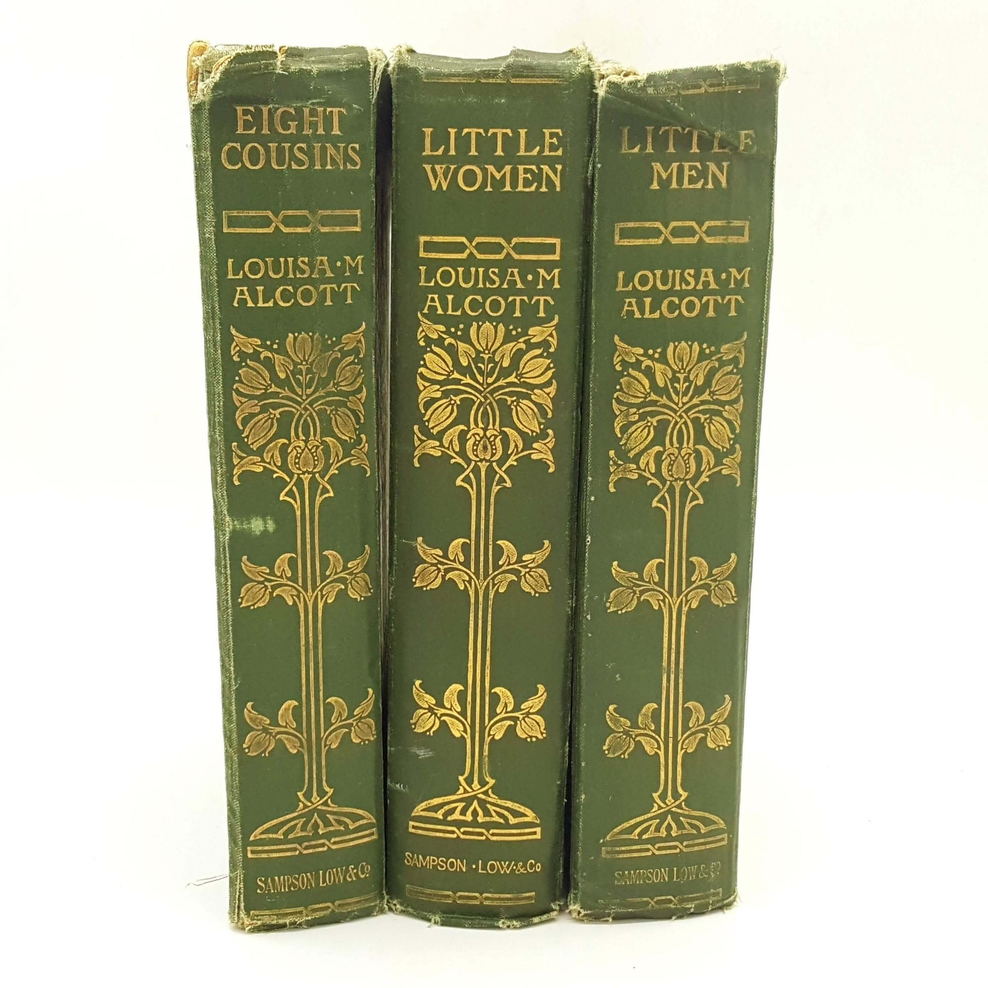 Louisa May Alcott Collection - Little Men, Little Women, Eight Cousins 1906 Country House Library