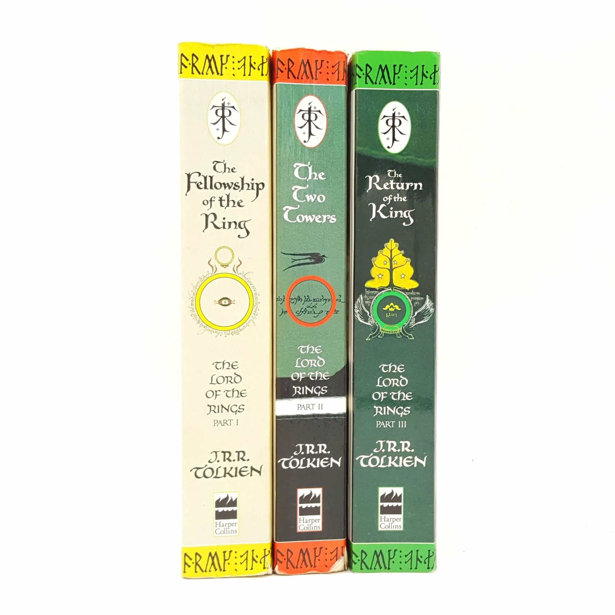 Tolkien's The Lord of the Rings Collection - Three Books Country House Library