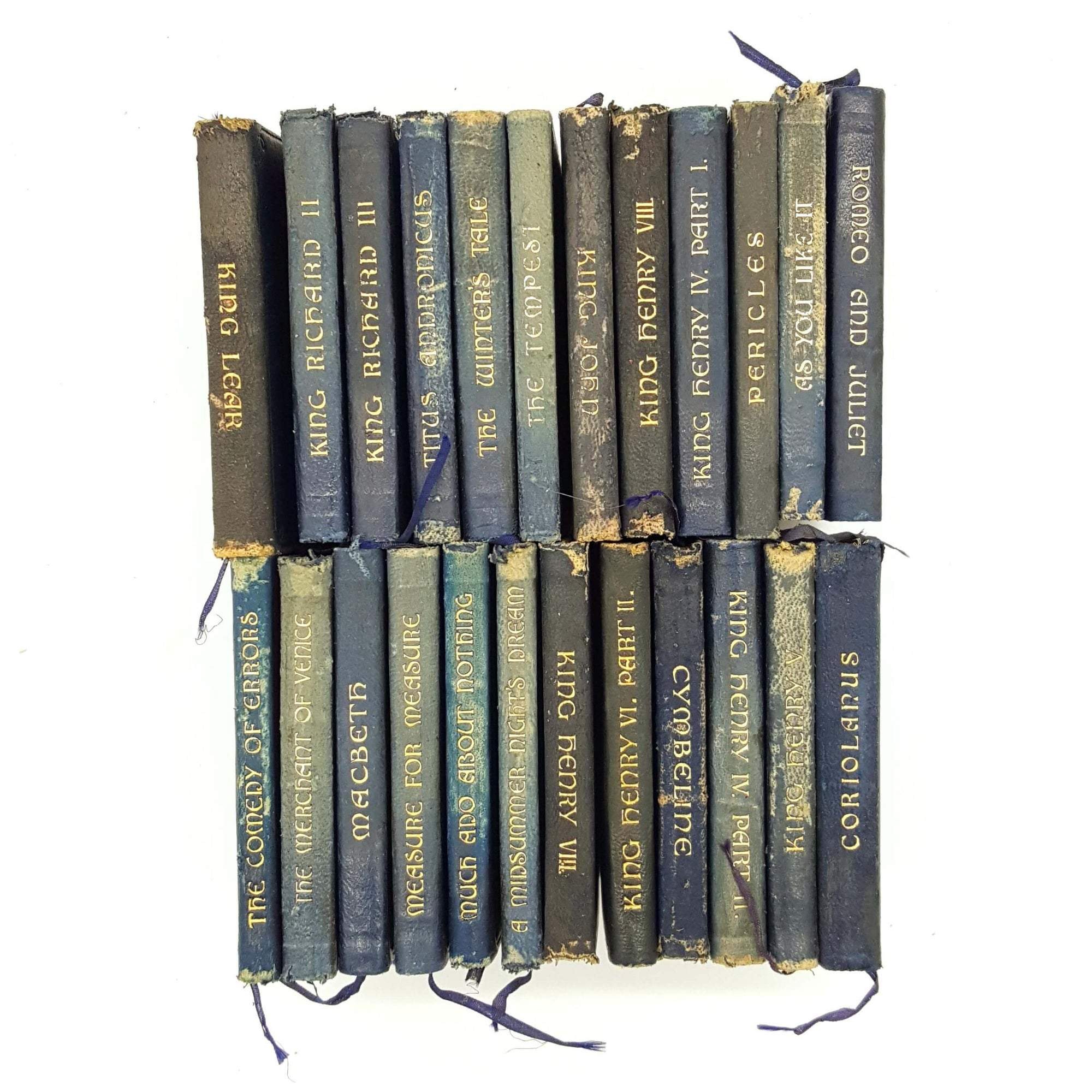Mini Shakespeare Four Book Collection c.1900 Country House Library