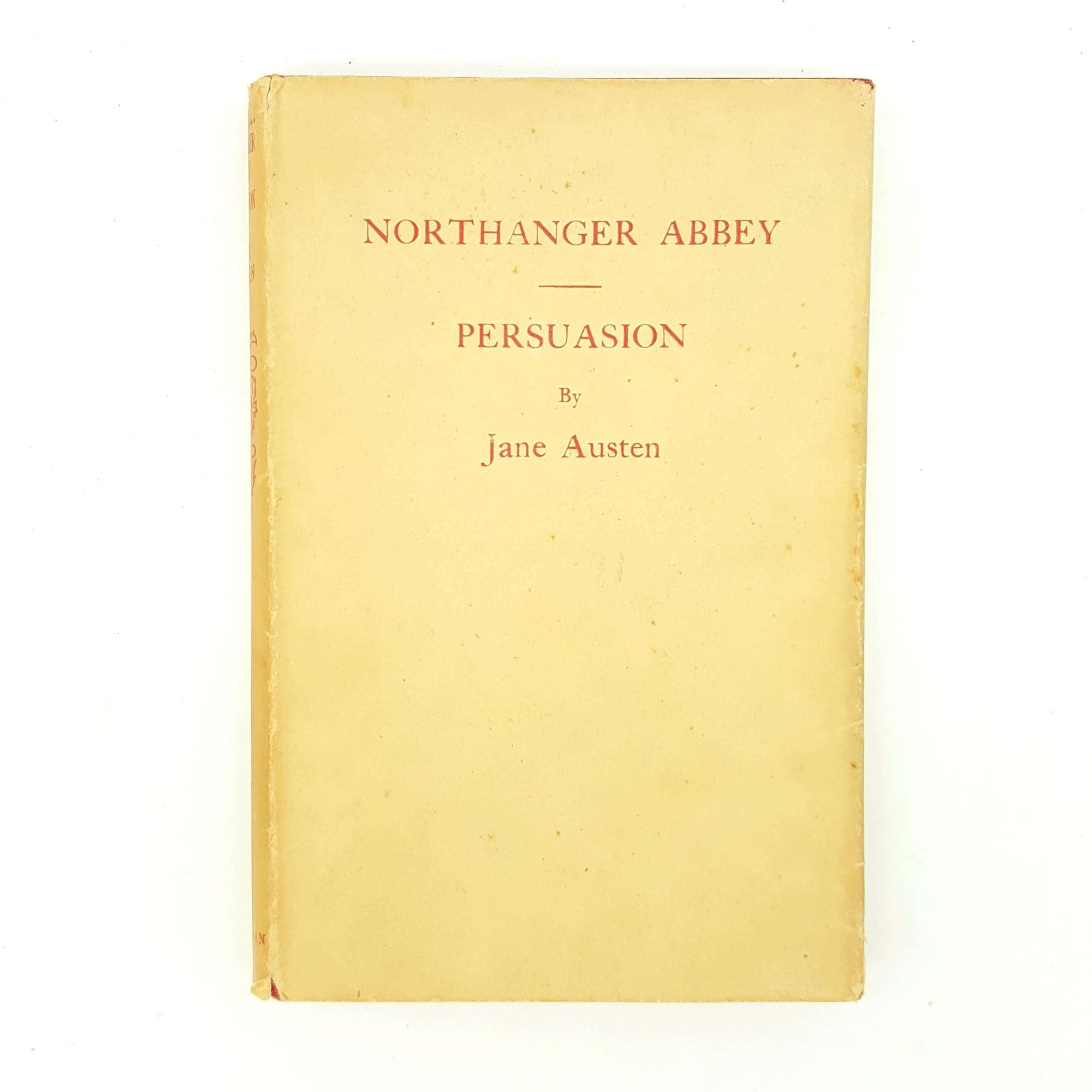 Jane Austen's Northanger Abbey and Persuasion 1951 - Macmillan Country House Library
