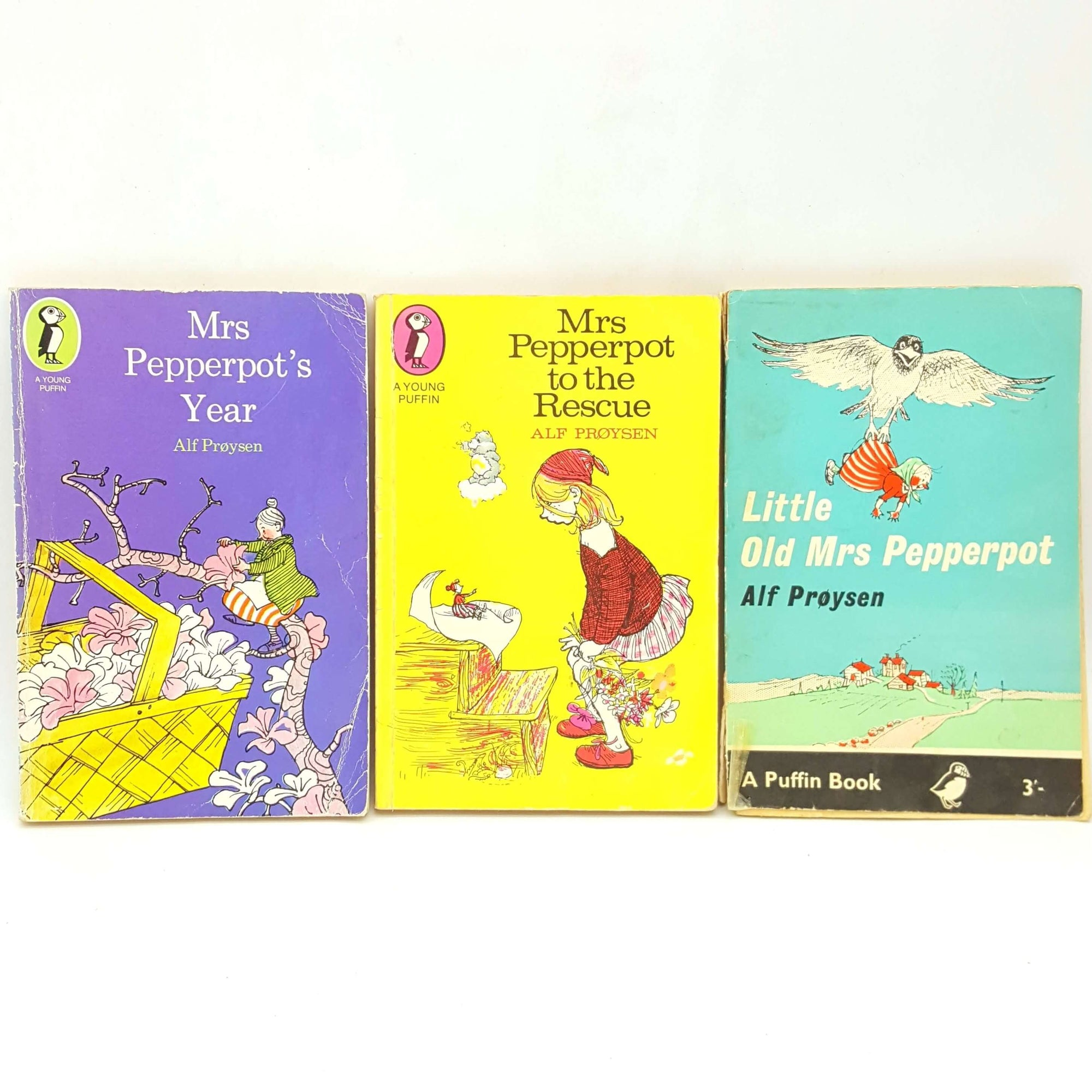Mrs Pepperpot Three Book Collection - Puffin Books Country House Library