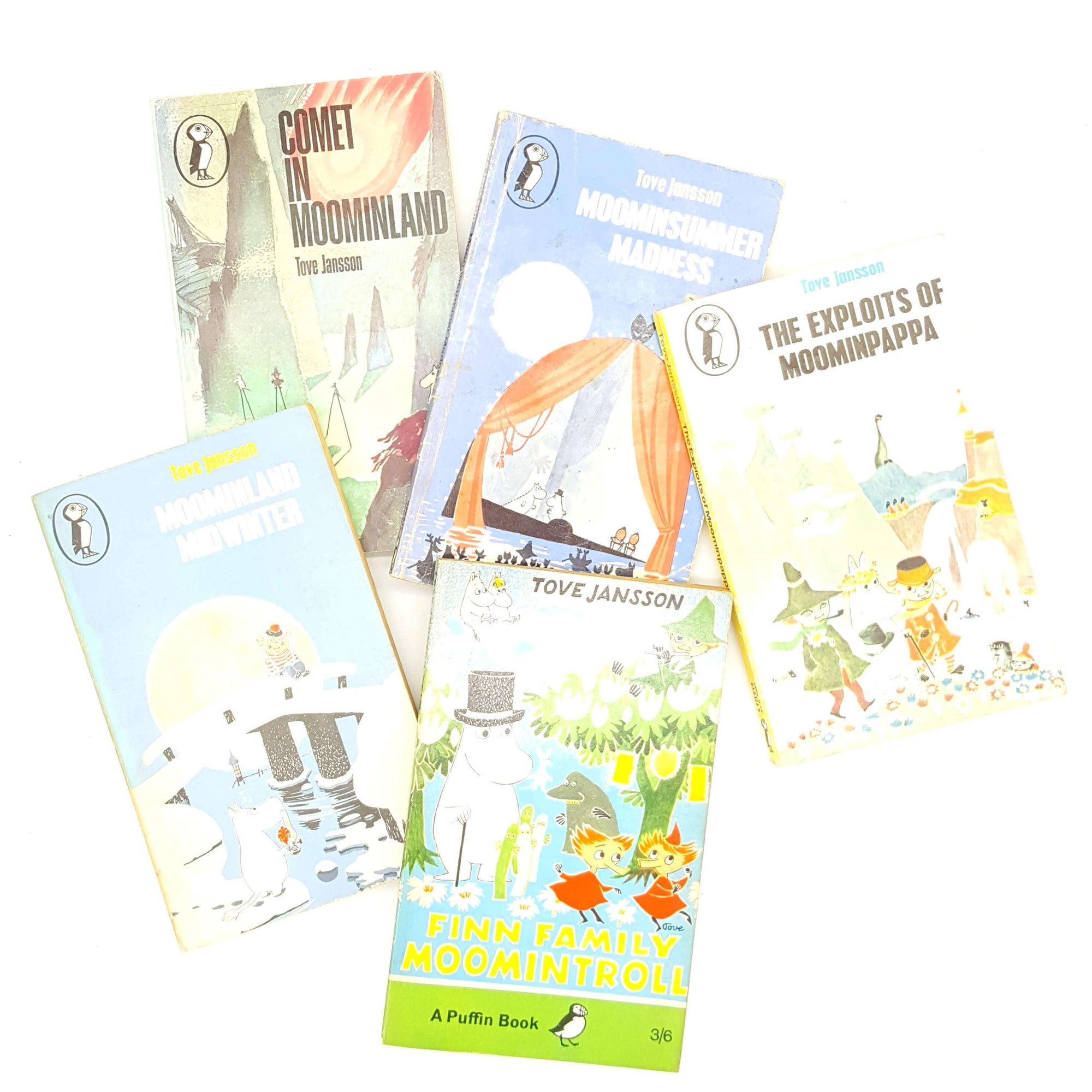 The Moomins - Five Puffin Book Collection Country House Library