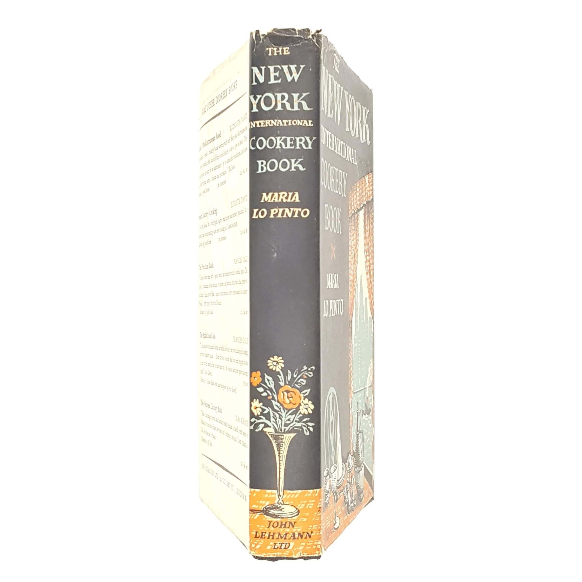 First Edition The New York International Cookery Book 1953 Country House Library