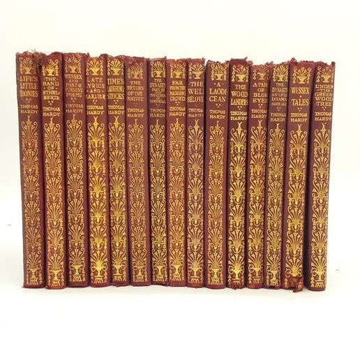 Thomas Hardy Fifteen Book Collection - 1923 Country House Library