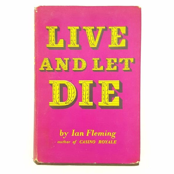 Ian Fleming's Live and Let Die Country House Library