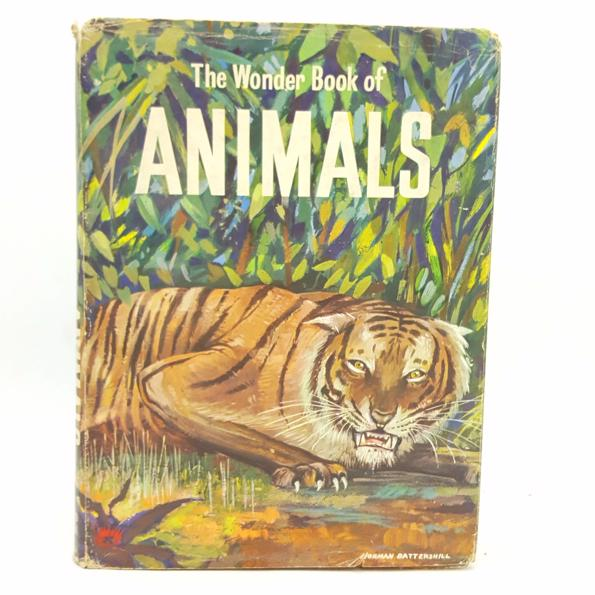 The Wonder Book of Animals 1960 Country House Library