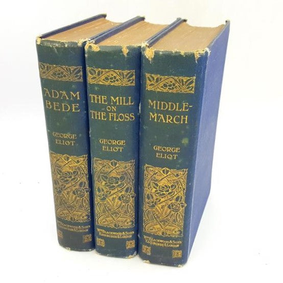 George Eliot Three Book Collection c.1900 Country House Library