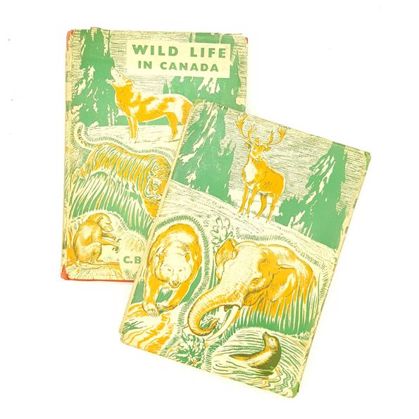 Wild Life Collection by C.B. Rutley 1943 Country House Library