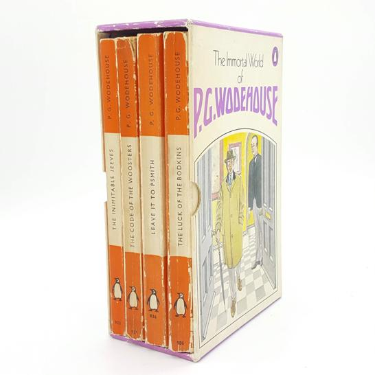 The Immortal World of P.G.Wodehouse 1953 Country House Library
