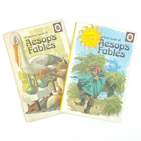 Aesop's Fables 1 & 2 Ladybird Books 1974 Country House Library