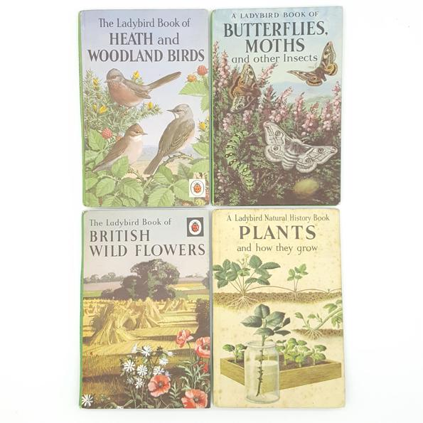 Nature and Animals Ladybird Collection c.1960 Country House Library