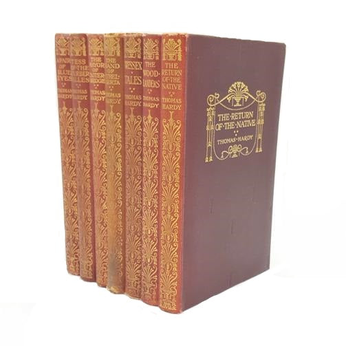 Thomas Hardy Seven Books Collection 1923-9 Country House Library