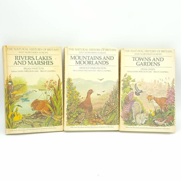The Natural History of Britain and Northern Europe Collection 1979 Country House Library