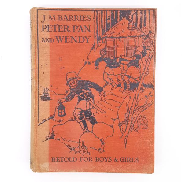 J.M Barrie's Peter Pan and Wendy c.1926 - Hodder & Stoughton Country House Library