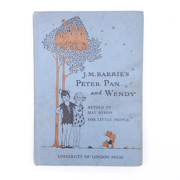 J.M Barrie's Peter Pan and Wendy 1935 - University of London Country House Library