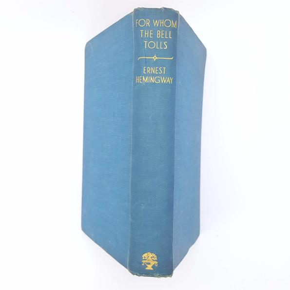 For Whom The Bell Tolls by Ernest Hemingway 1941 Country House Library