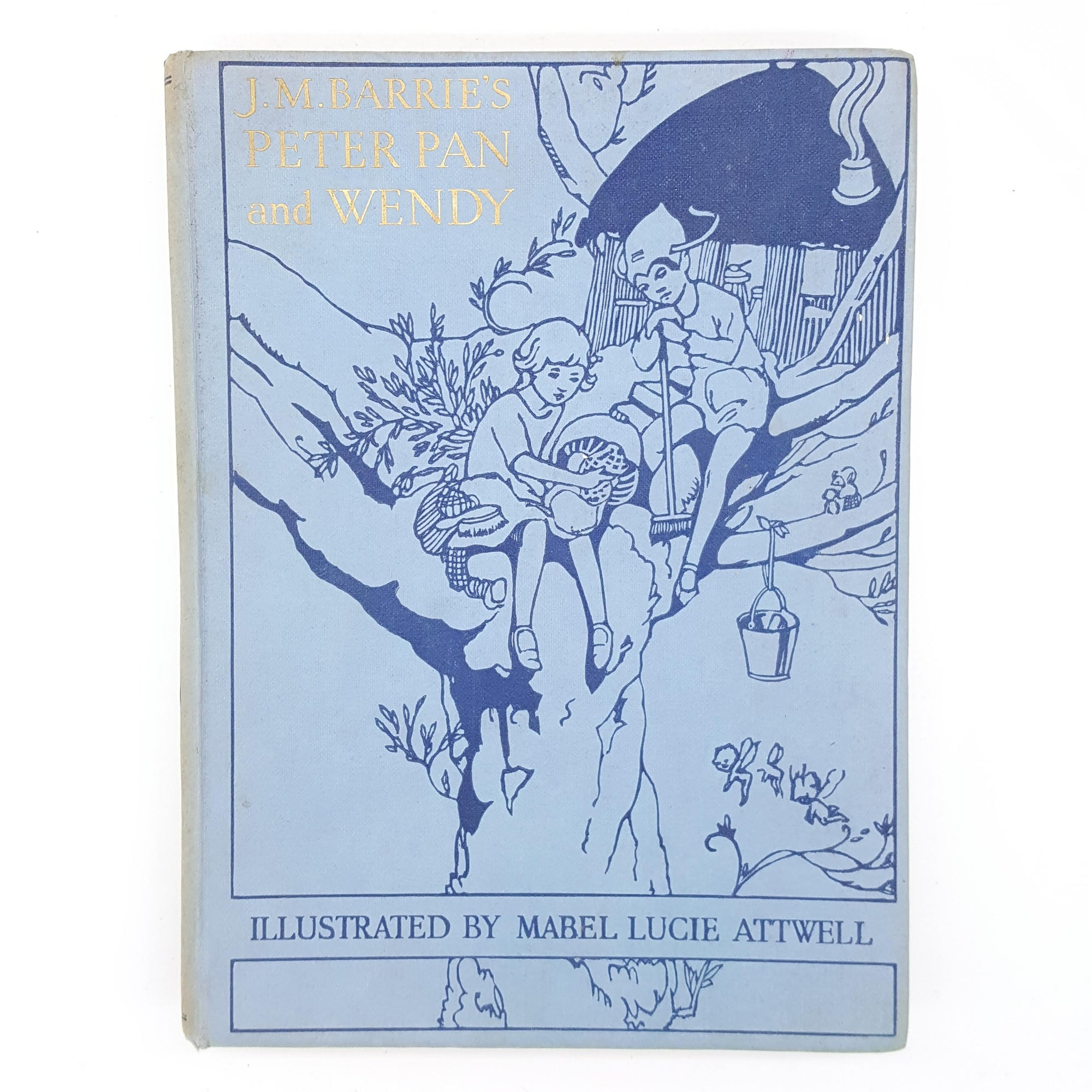 Peter Pan and Wendy retold by May Byron 1955 Country House Library