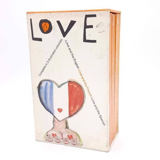 Love Box Set by Nina Epton 1964 Country House Library