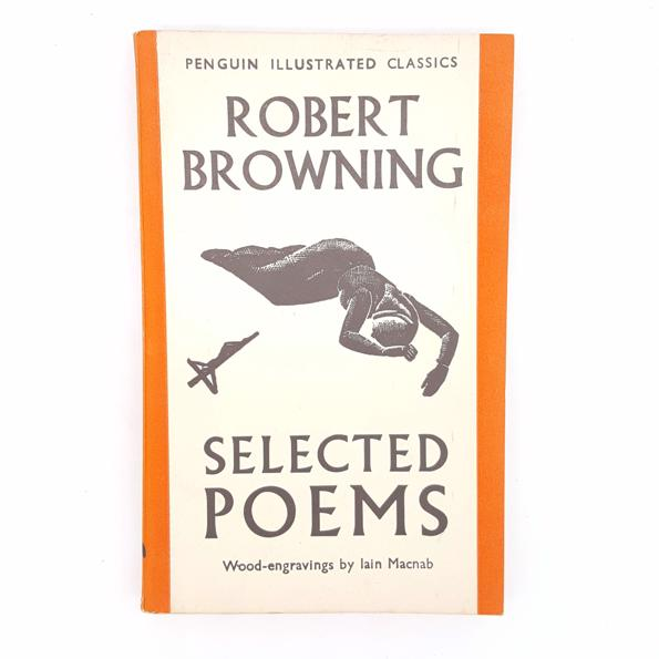 Robert Browning's Selected Poems 1938 Country House Library