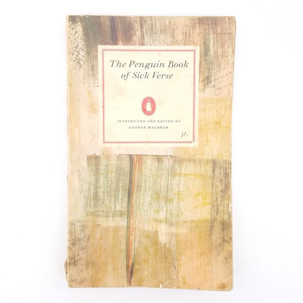 First Edition: The Penguin Book of Sick Verse 1963 Country House Library