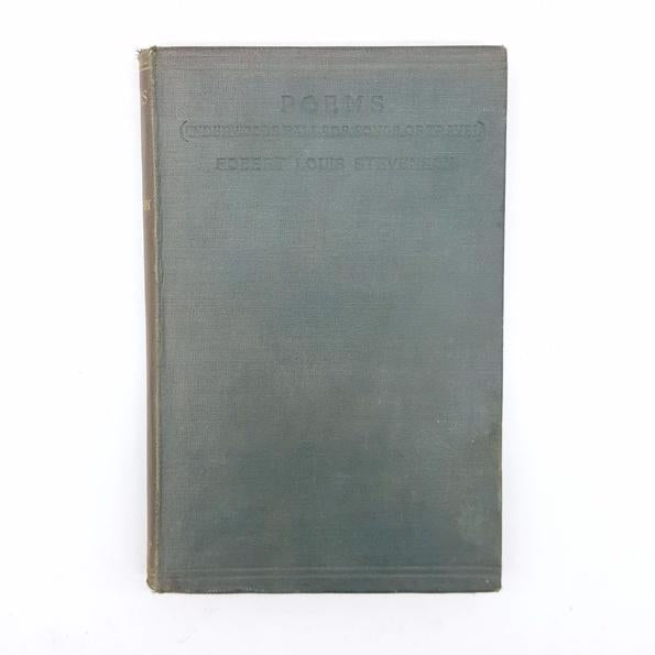 R.L.Stevenson's Poems 1922 Country House Library