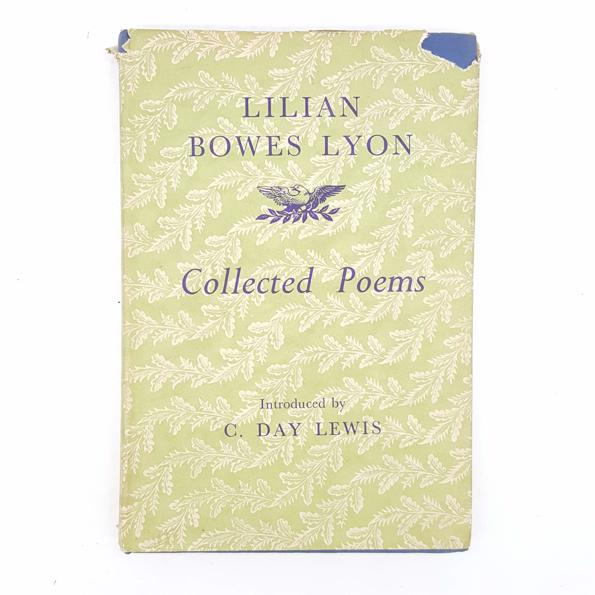 Lilian Bowes Lyson's Collection Poems 1948 Country House Library