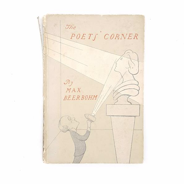 The Poet's Corner by Max Beerbohm 1943 Country House Library