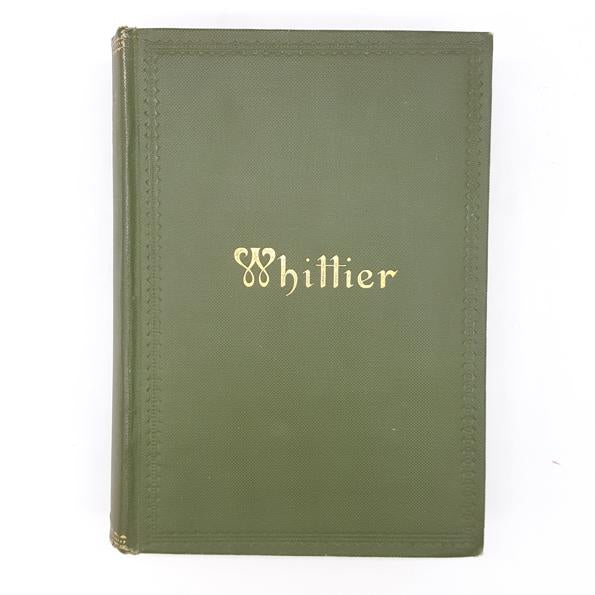 Whittier's Poetical Works 1910 Country House Library