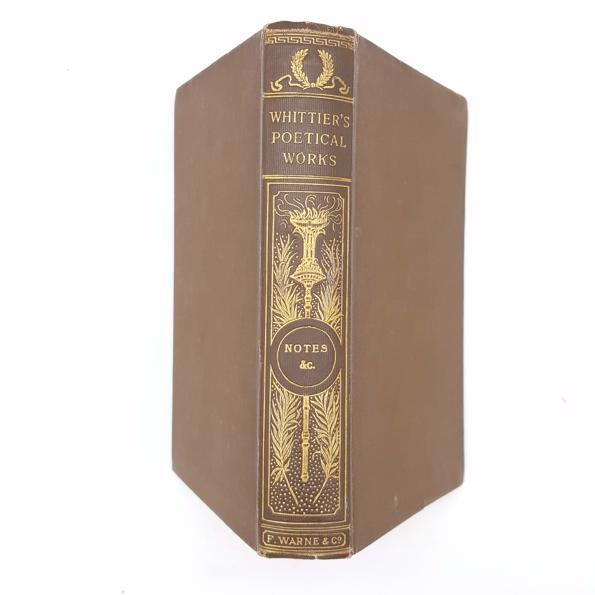 Whittier's Poetical Works - Frederick Warne Country House Library