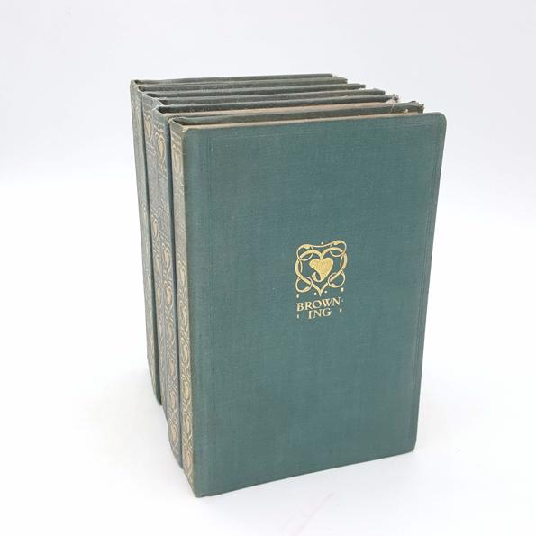 Poetry Collection - The Gresham Publishing Company c.1910 Country House Library