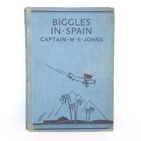 Biggles in Spain by Captain W.E. Johns Country House Library