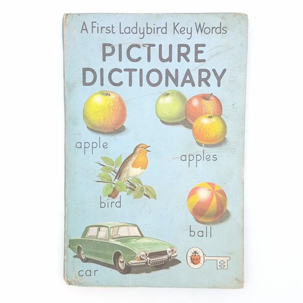 Ladybird A First Picture Dictionary Country House Library