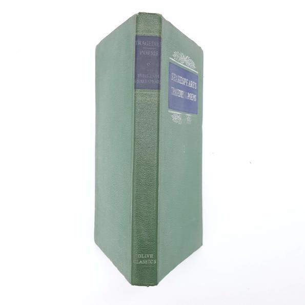 Shakespeare's Tragedies & Poems - Olive Classics 1964 Country House Library