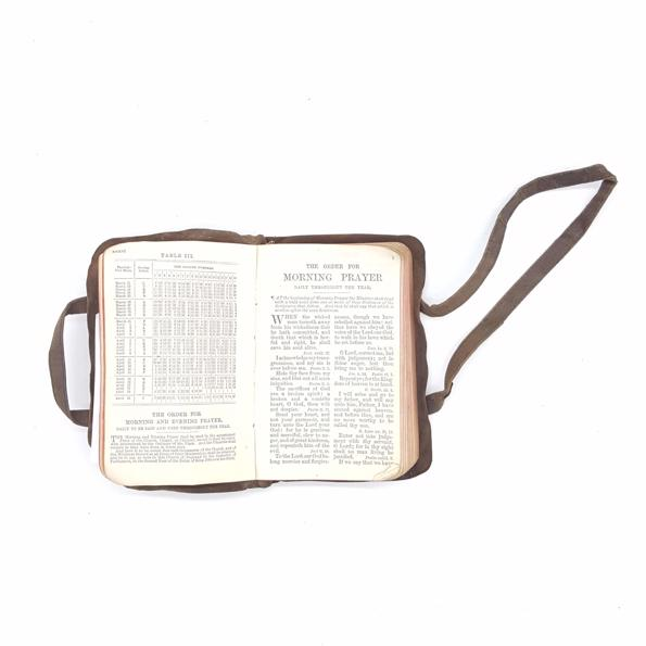Suede Common Prayer Book -  Carry Strap and Pocket Country House Library