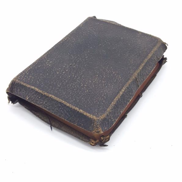 Textured Leather Bible with Yapp Country House Library
