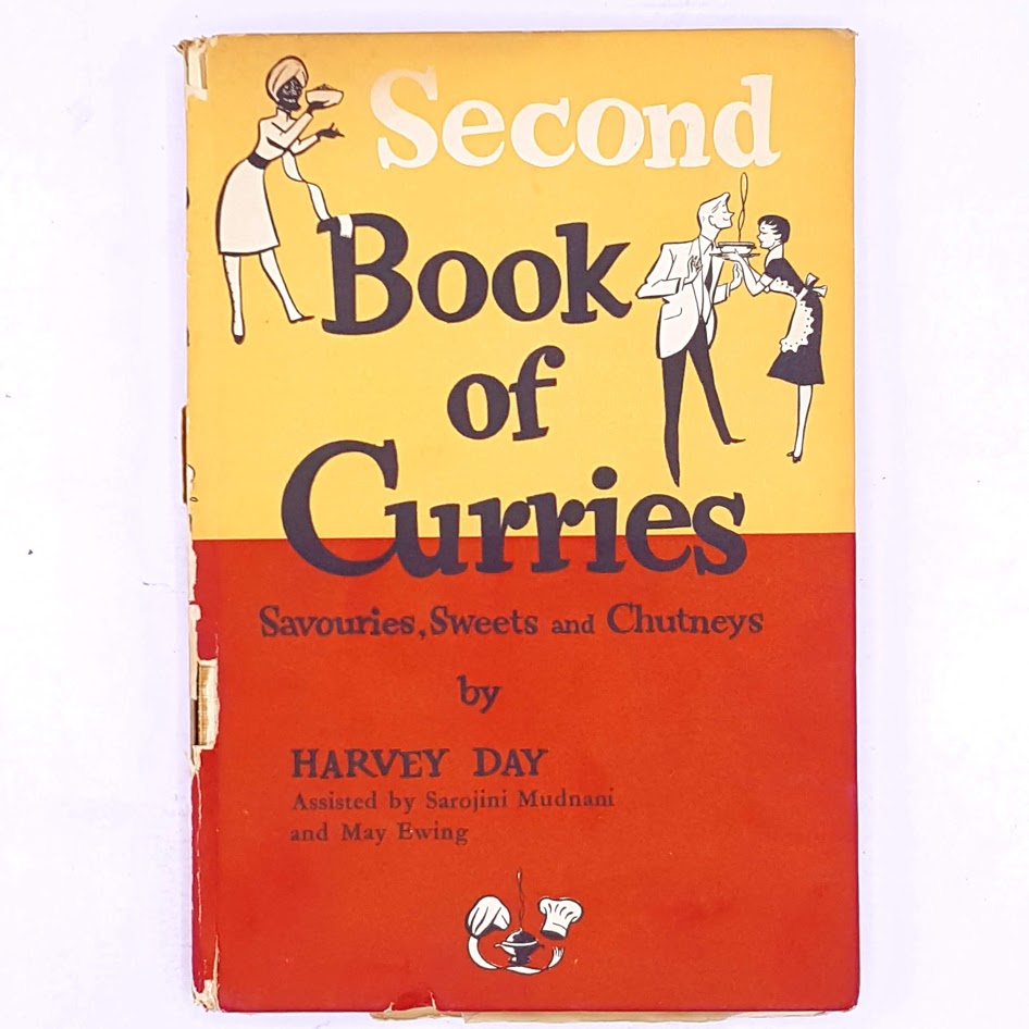 The Second Book of Curries by Harvey Day 1958