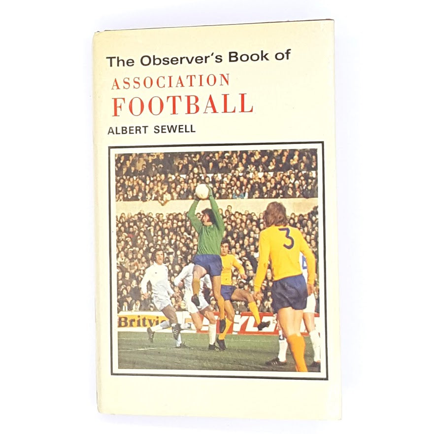 hardcover-books-association-football-old-1976-patterned-country-house-library-thrift-observer-vintage-antique-decorative-classic-