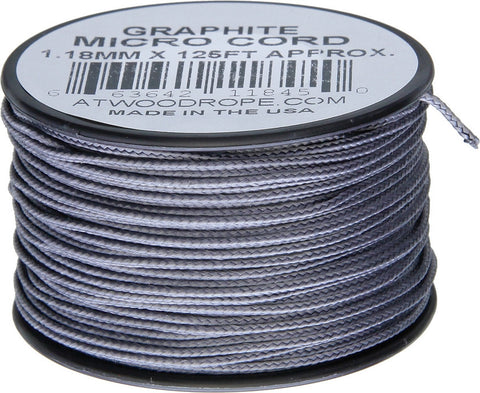 Atwood Micro Cord 125ft Graphite