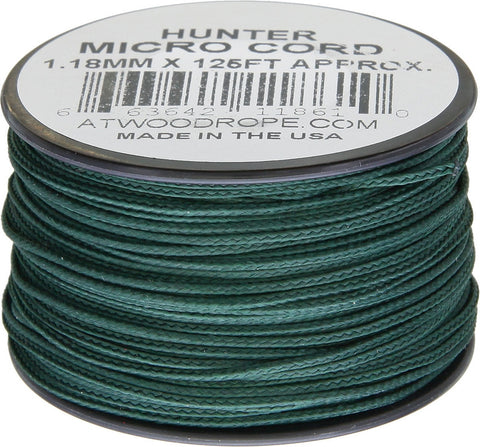 Atwood Micro Cord 125ft Hunter